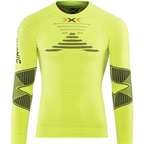 X-Bionic Running Effektor Power OW Jersey manga larga Hombre, green lime/black